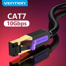 Câble Ethernet Vention Cat 7 câble Lan câble réseau STP RJ45 pour cordon de raccordement Compatible pour routeur d'ordinateur câble réseau d'ordinateur portable