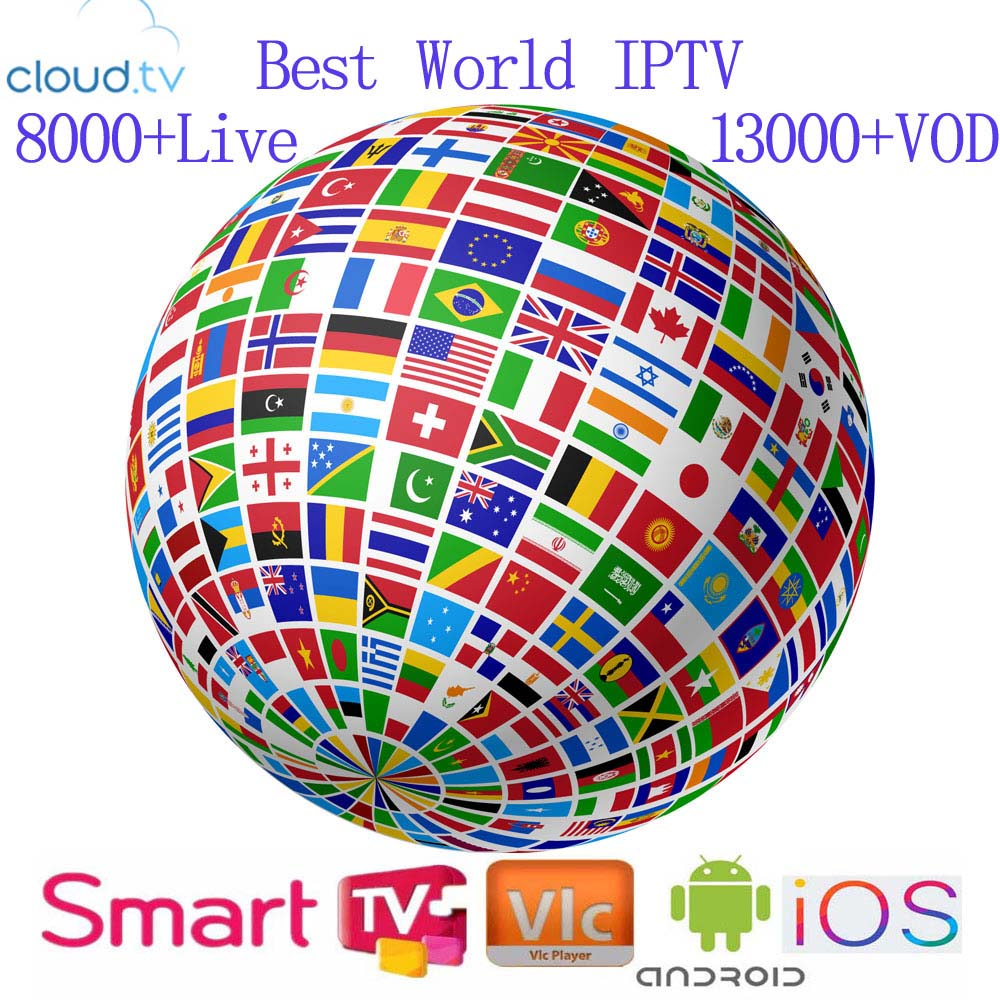 World IPTV Subscription USA United Kingdom Spain  Germany Portugal Italy M3u  Android Smart TV Box Enigma2 PC