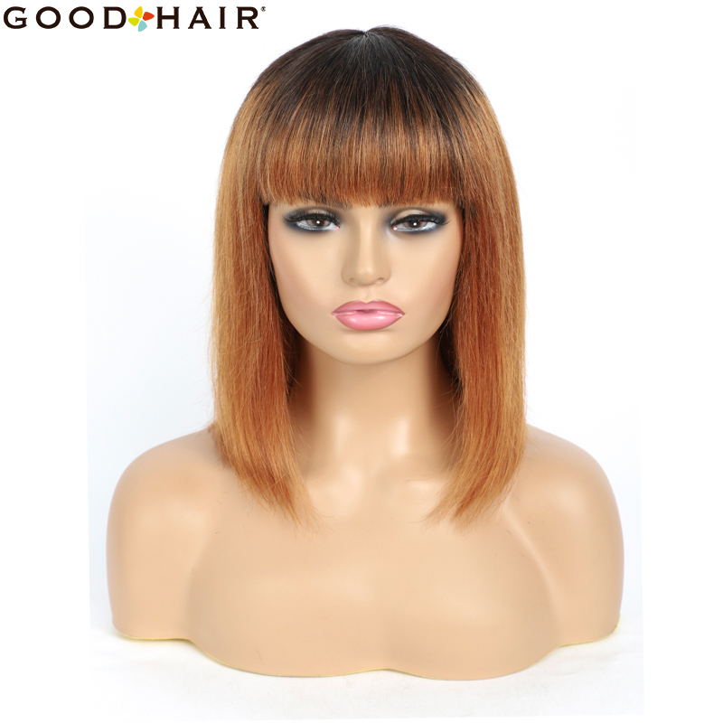 de cabelo humano completa máquina feita peruca