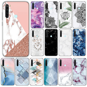 Marble TPU Case For Xiaomi Redmi Note 8 Soft Silicone Back Cover For Xiomi Redmi Note8 6.3 Phone Cases Shockproof Fundas Coque image