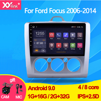 Android 9.0 Car Radio Multimedia Video Player Navigation GPS For ford focus 2 3 Mk2/Mk3 2006-2014 autoradio audio no 2 din DVD image