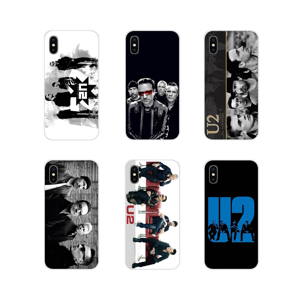 Accessories Phone Case Covers For Apple iPhone X XR XS 11Pro MAX 4S 5S 5C SE 6S 7 8 Plus ipod touch 5 6 U2 Bono Joey Ramone band image