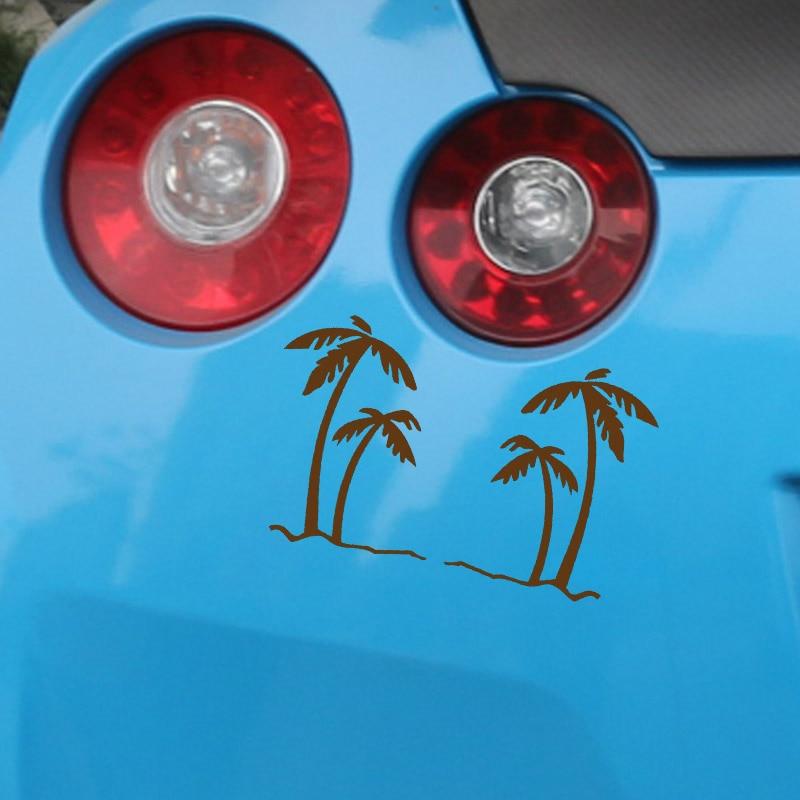 EmpireYing 3 Størrelser 8 farver Palm Tree Tropics Grafisk - Udvendigt biltilbehør - Foto 4