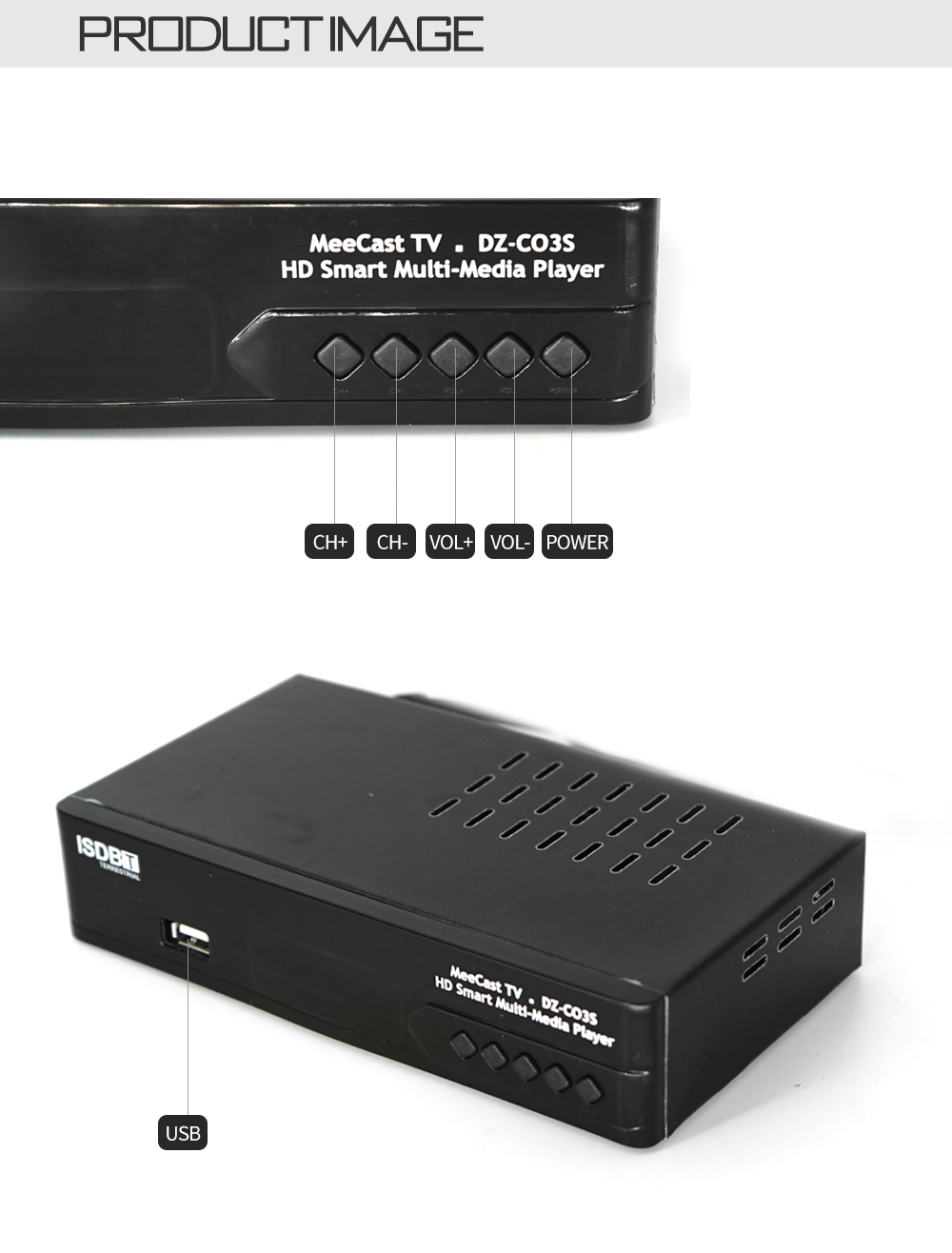 Digital Terrestrial ISDB-T TV Tuner Receiver Set-Top Box Fully HD 1080P H.264 USB Decoder for Brazil Chile Peru 8 -
