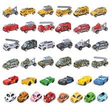 1 шт. случайный масштаба 1:64 сплав игрушечный автомобиль модель Металл + ABS имитация внедорожник спортивный гоночный автомобиль модель для пр...