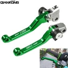 Dirt bike brakes Motorcycle Brake Clutch Levers Handle FOR Kawasaki KX125 2000 2001 2002 2003 2004 2005 2000-2005 KX125 KX 125