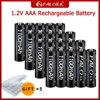 Batteria ricaricabile PALO 1100mAh 1.2V AAA NIMH 1100mAh 3A AAA 1.2V batteria ricaricabile per giocattoli torcia per fotocamera