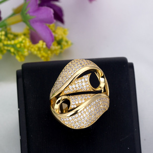 Three Colors Silver Color Wedding Band Rings Material Cubiz Zircon Stone For Wedding Ring Set(China)