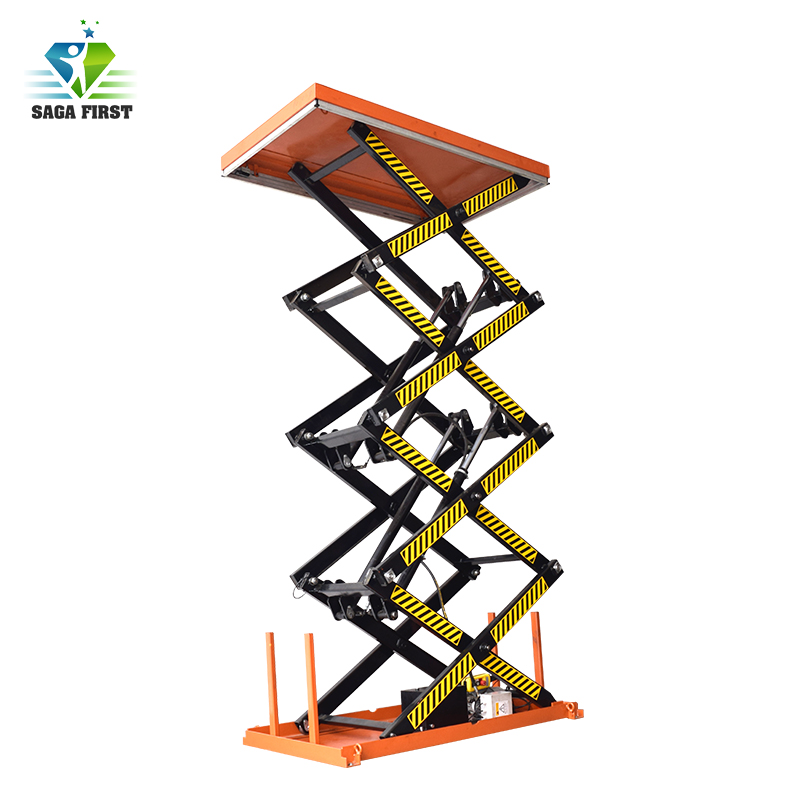 2018 Factory Sale Electric Hydraulic Scissor Lift Table European Quality