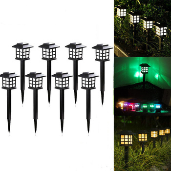 Led Solar Pathway Lights Outdoor Waterproof Solar Garden Lawn Lamps for Garden Landscape Path Yard Patio Walkway Lawn Lights new solar lights butterfly lawn lights colorful color lawn lights led outdoor garden placement decorative lights