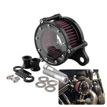 Air Cleaner Intake Filter System Kit For 2015 Harley Forty Eight XL1200X Iron 883 Hard Candy Custom XL883N/ XL883N