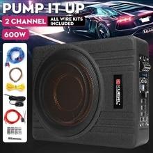 Speaker Amplifier Audio-Bass-Seat Power-Active Hifi Slim Auto Built-In Car Ultra-Thin