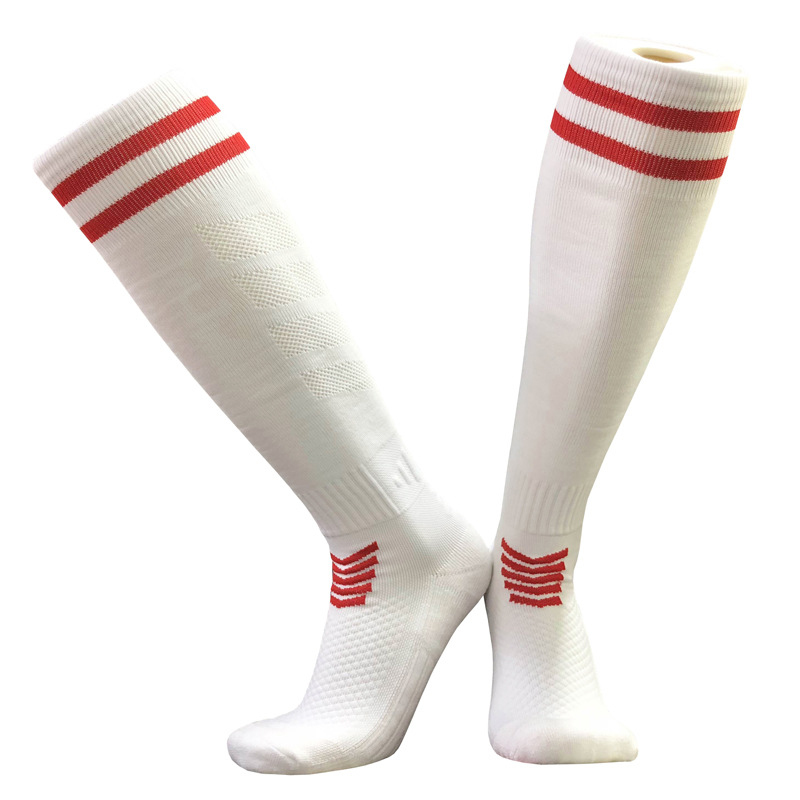 Breathable Men's Soccer Socks Women Knee Long Running Basketball Towel Socks Bike Volleyball Thickening Non-slip Socks Stockings