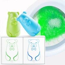 Милый медведь синие пузыри, для унитаза средство для чистки Magic автоматический промывной чистящее средство для унитаза Helper голубой пузырьковая моечная дезодорирует для Ванная комната