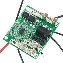 Módulo bms da placa de circuito da proteção do bloco da bateria do lítio do li-ion da placa de proteção de carregamento da bateria de 5S 18v 21v 20a para ferramentas elétricas