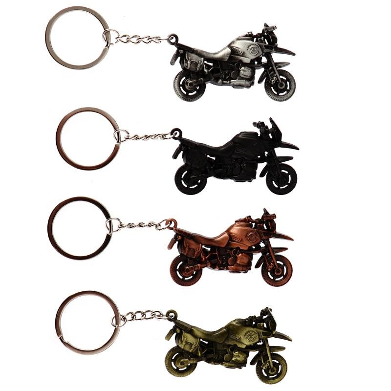 Hot Sale Motorcycle Key Chain Charm Metal Keychain Car Men Women Car Key Ring Car Company Key Holder Best Gift Jewelry 2405