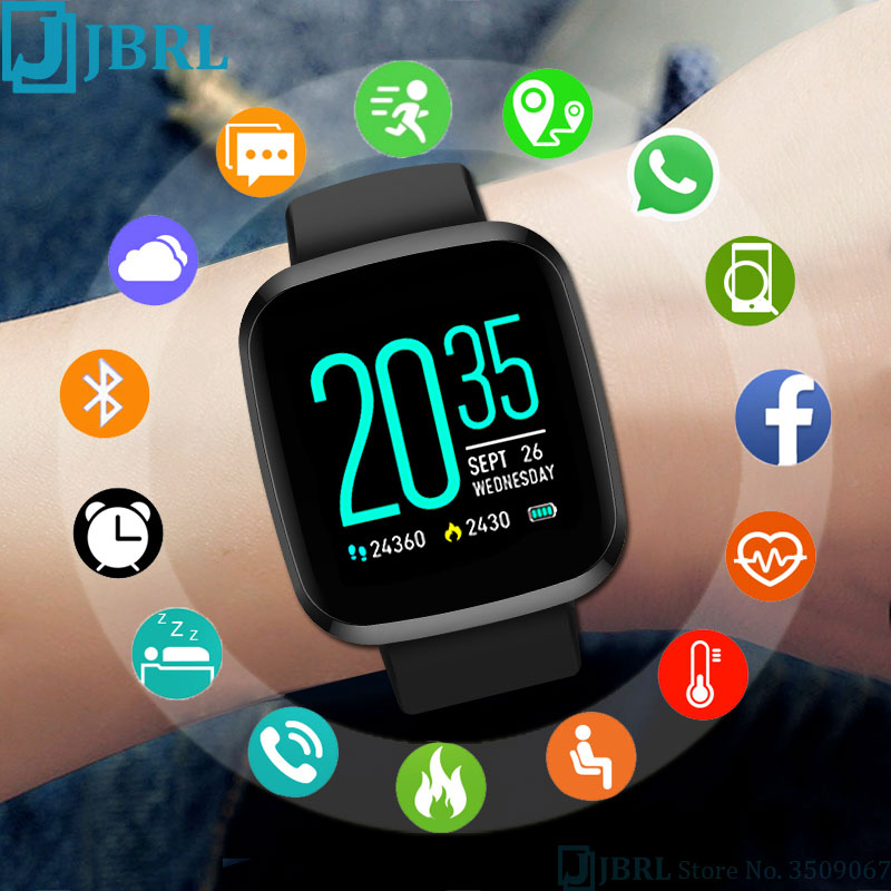 <font><b>P3</b></font> Sports Pedometer <font><b>smart</b></font>-<font><b>watch</b></font> girl clock For Android IOS Smartwatch children <font><b>watch</b></font> kid Square Silicone Strap <font><b>Smart</b></font> <font><b>Watch</b></font> child image