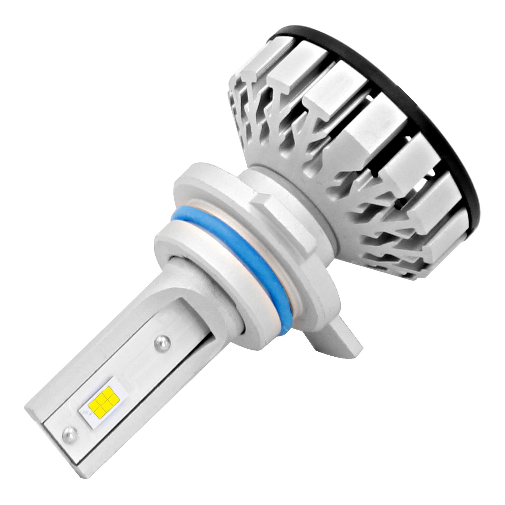 Car LED Headlight Bulbs R8 H1 H3 H4 H7 H11 9005 9006 9012 High Light Efficiency Waterproof 6000K White Color Car Light 12V
