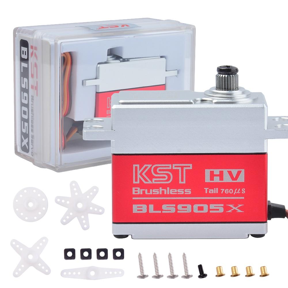KST BLS905X 8.4v 8kg 0.035sec Standard size Brushless 550-700 Tail Servo Motor For Helicopter 550-700 Tail RC Models
