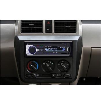 Podofo one din Car Radio Stereo FM Aux Input Receiver SD USB JSD-520 12V In-dash 1 din Car MP3 USB Multimedia Autoradio Player 2