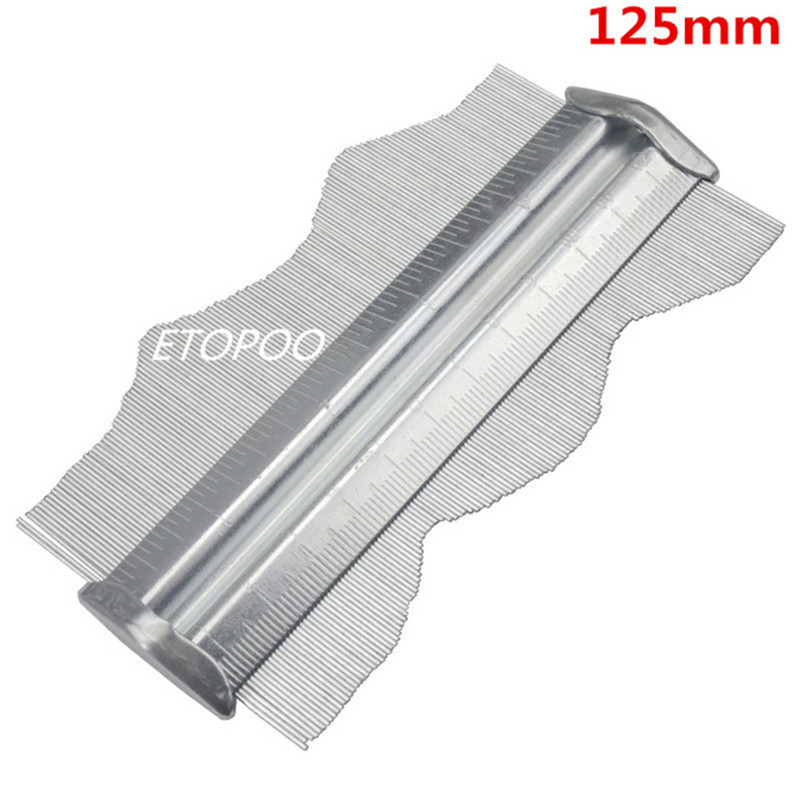 "Metal Professional Contour Gauge 125MM 5/"" Profile Tiling Laminate Tiles Carpet"