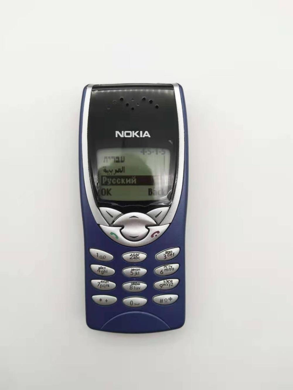 Le Jeune moderne.Gadgets-Nokia 8210 original débloqué Dualband GSM 900/1800 GPRS remis à neuf-Nokia 8210 original débloqué Dualband GSM 900/1800 GPRS remis à neuf