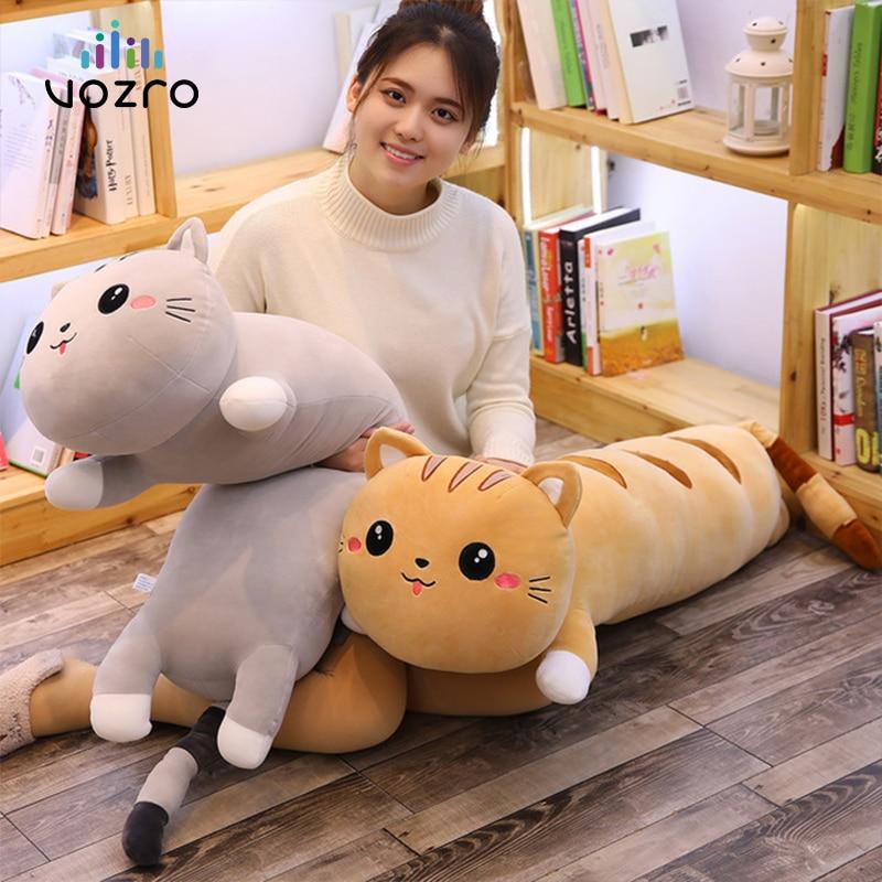 VOZRO Cartoon Katze Kissen Almofada Coussin Salon Enfant Cojines Decorativos Kissen Para Sofa Cojin Dekorative Werfen Overwatch