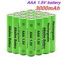 100% AAA батарея 3000 мАч 1,5 В щелочная AAA аккумуляторная батарея для пульта дистанционного управления игрушка светильник батарея Бесплатная дос...