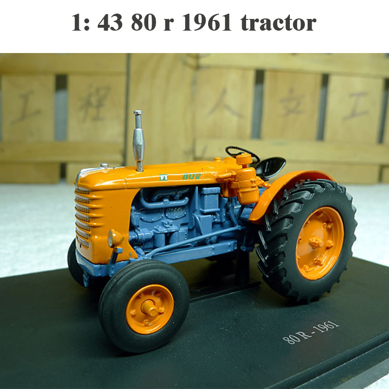 Rare  Fine  1: 43 80 R 1961 Tractor  Agricultural Vehicle Model  Alloy Collection Model
