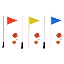 Bicycle-Flag Safety Pennant for Boys And Girls Balance-Bike Divisible 120cm/180cm New