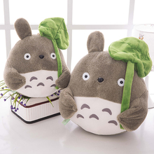 Japanese Cartoon Lovely Style Plush Totoro Toys Stuffed Baby Doll Cute Movie Character Children Birthday Kawaii Gift WJ271