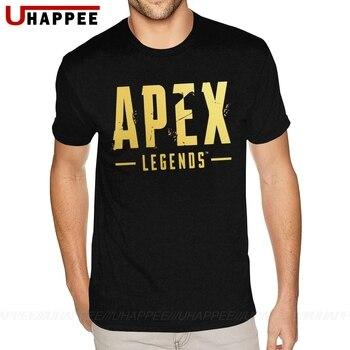 Cheap Graphic Apex Legends T Shirt Men 4XL Short Sleeve Full Cotton Round Neck Tee Shirts 1