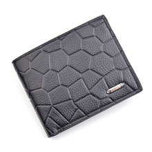 New men's short wallet Korean thin section soft leather yout