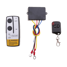 12V 50ft Universal Wireless Winch Remote Control Kit For Truck Jeep ATV SUV