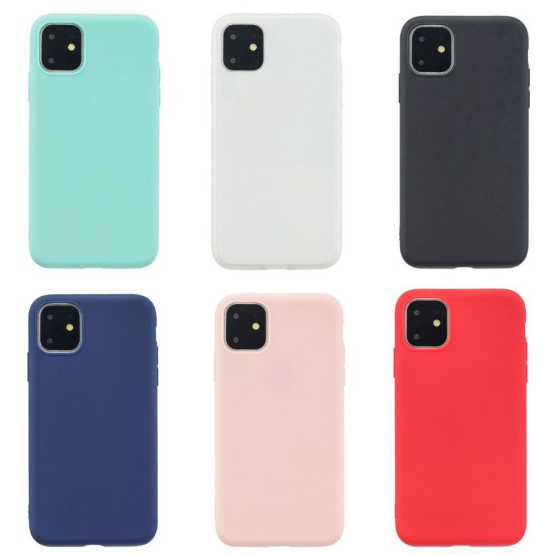 Candy Colors Case For Iphone 11 Pro Anti-Scratch Non-Slip Simple Protective Covers For Iphone 11 Pro Max (US STOCK)