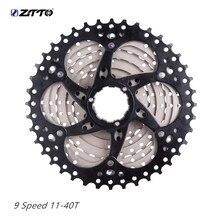 ztto 9 speed cassette 18S 27S Speed Cassette Sprocket 11-40T freewheel for sunrace k7 sprocket cassete velocidade