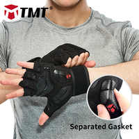 TMT Gym Handschuhe Crossfit Hantel Sport Gewichtheben Handschuhe Atmungsaktive Anti-Slip Dichtung für Übung Fitness Verlieren Gewicht Mann