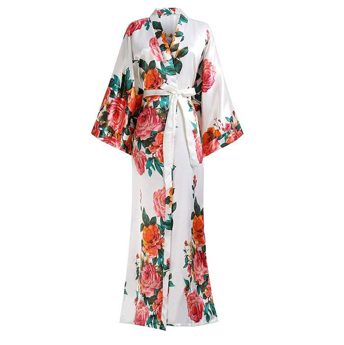 For-Female-Print-Flower-Satin-Spring-Sleepwear-Intimate-Lingerie-Kimono-Bathrobe-Gown-Home-Clothing-Large-Size (6)