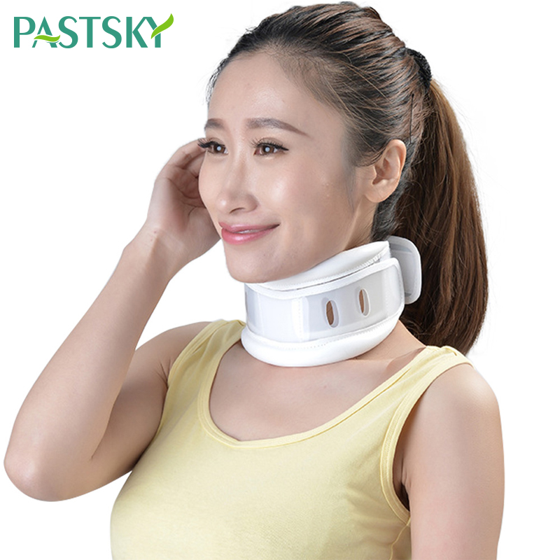 Breathable Neck Brace Neck Correction Repair Collar Cervical Spine Support Neck Pain Relief Neck Tractor Orthosis Braces()