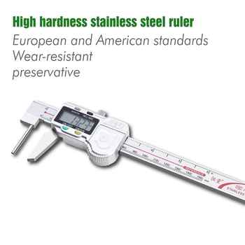 Non-Standard Digital Calipers High Precision Workload Meter Precision Tools Stainless Steel Measuring Tool Thickness 0-150MM