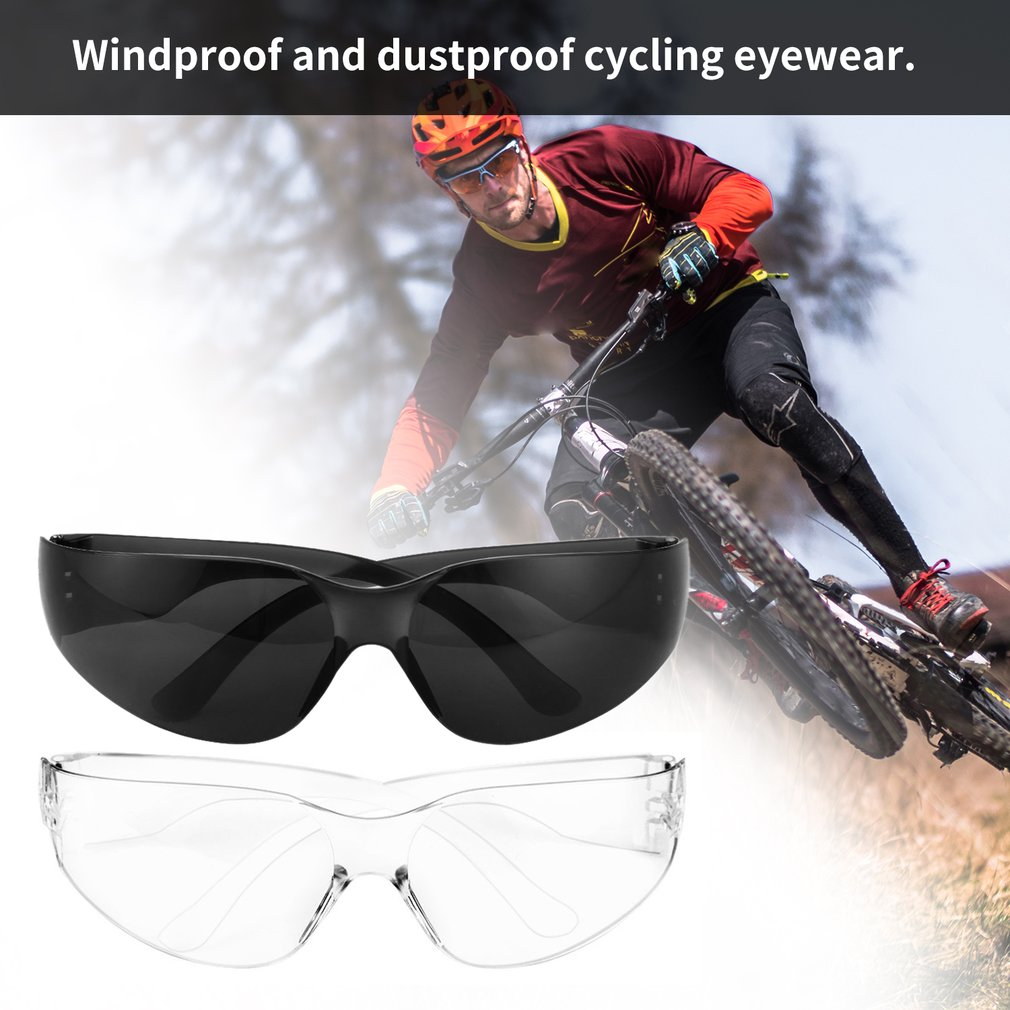 Safety Potective Goggles Glasses Windproof Dustproof Eyewear Outdoor Sports Glasses Bicycle Cycling Glasses Anti Scratch