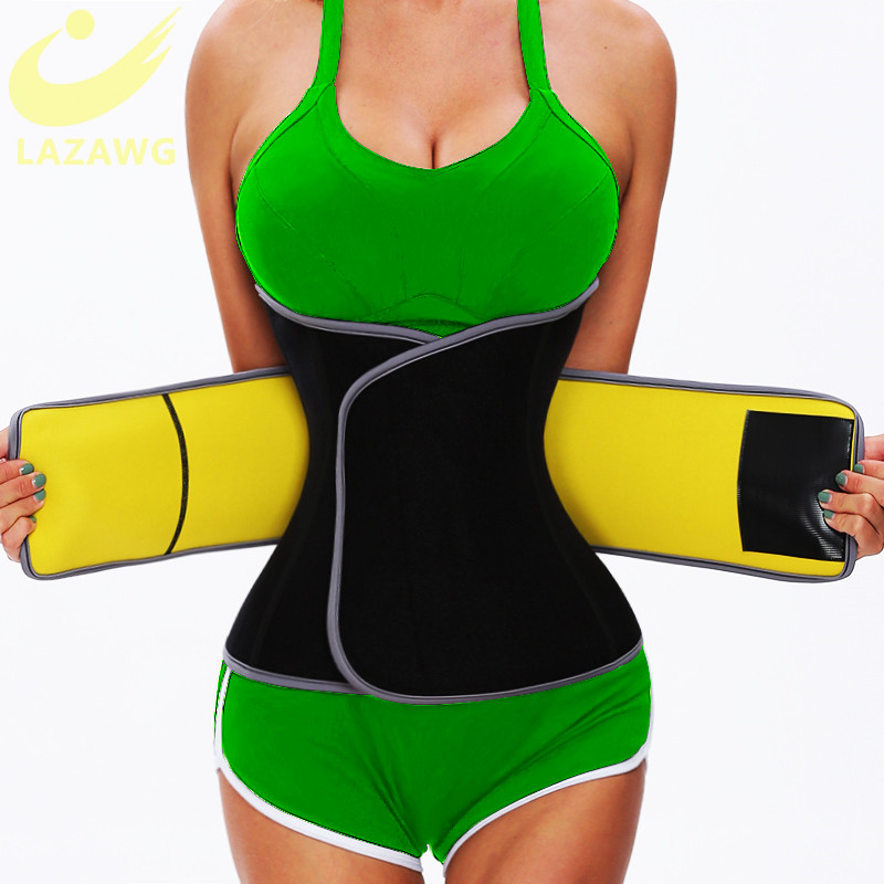 LAZAWG Waist Trainer Body Shaper Belt Weight Loss Girdle Waist Cincher Tummy Control Slimming Shapewear Shapewear Home Fitness