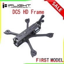 IFlight DC5 222 мм Колесная база 5 дюймов HD FPV рама для фристайла комплект с 5 мм arm-совместимых 5 дюймовый опора для съемкой от первого лица воздуха вращающегося вала цифровой