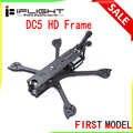 IFlight DC5 222mm empattement 5 pouces HD FPV Kit de cadre Freestyle avec bras de 5mm Compatible 5 pouces accessoire pour unité d'air FPV numérique