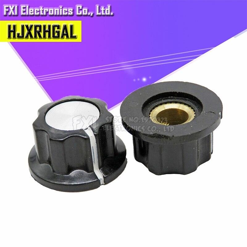 10pcs Hat MF-A01 Potentiometer Knob WH118/WX050 Bakelite Knob / Copper Core Inner Hole 6mm