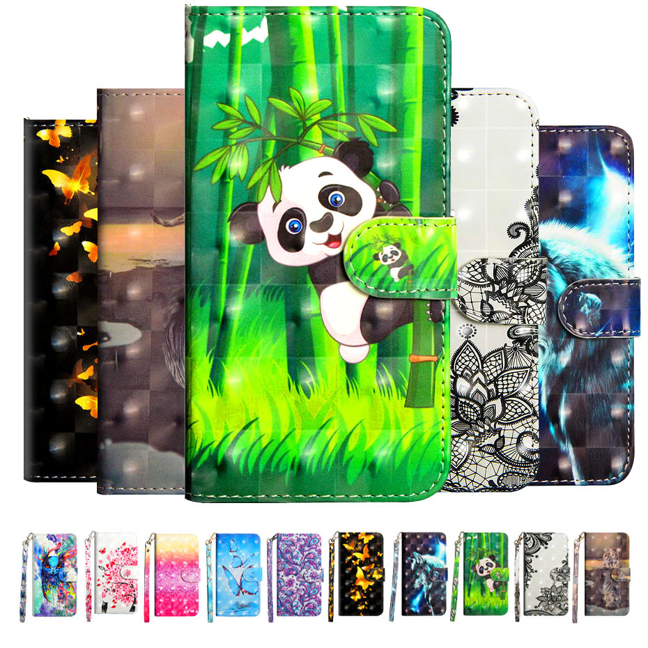 Etui Coque Cover <font><b>Flip</b></font> <font><b>Case</b></font> For <font><b>Nokia</b></font> 2 2.1 3 3.1 5 5.1 6 6.1 7 Plus 7.1 <font><b>8.1</b></font> 2018 with Tpu 3D Painted Leather Phone Card Wallet image