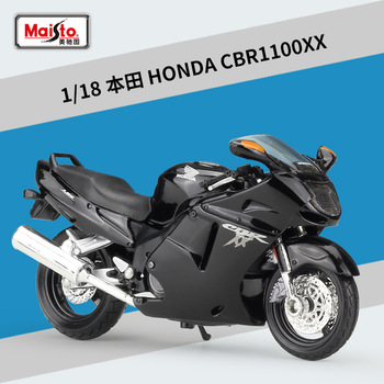 Maisto NEW 1:18 Scale HONDA CBR1100XX Motorcycle Model Toy Alloy Off-Road Racing Motorbike Africa  Motor Motorcycles Toys For