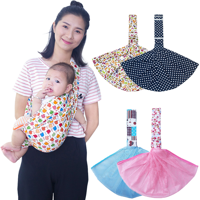 Baby Carrier Sling For Newborns Soft Infant Wrap Breathable Wrap Hipseat Breastfeed Birth Comfortable Nursing Cover 3-24Month