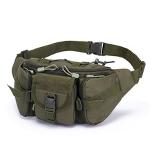 Belt Bag Man Outside Large Capacity Waterproof Camouflage Ride Travel Chest Pack Money Oxford Fashion Solid 2020 New Hot