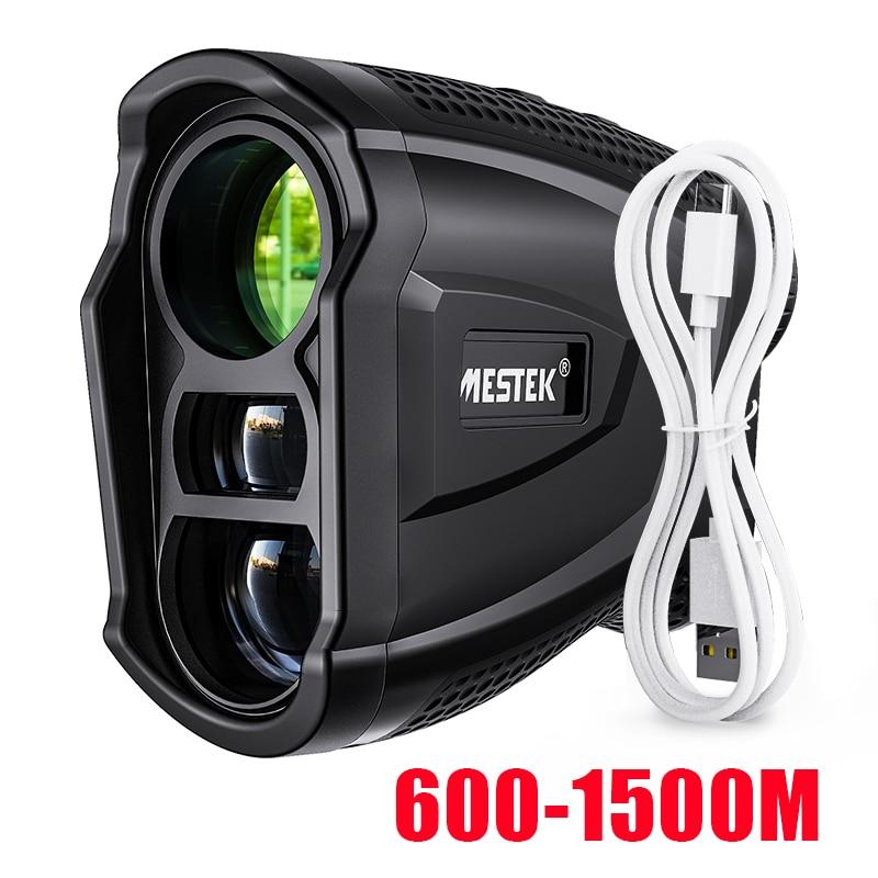 Mestek 600M Yd Golf Laser Rangefinder Golf Rangefinder Measuring Tape Distance Meter Laser Meter Golf Rangefinder for Hunting